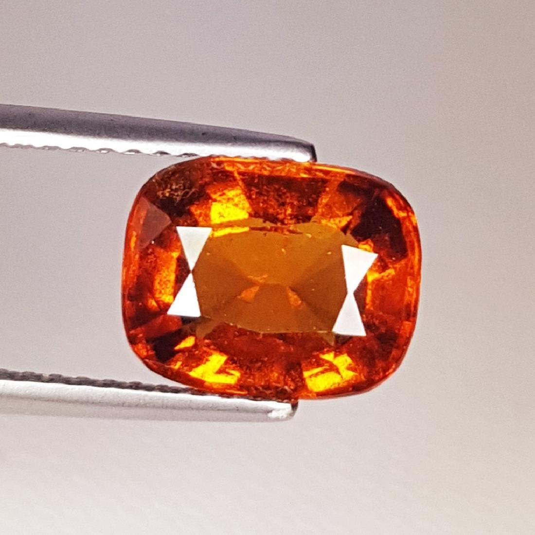 2.87 ct AAA Gem Natural Hessonite Garnet