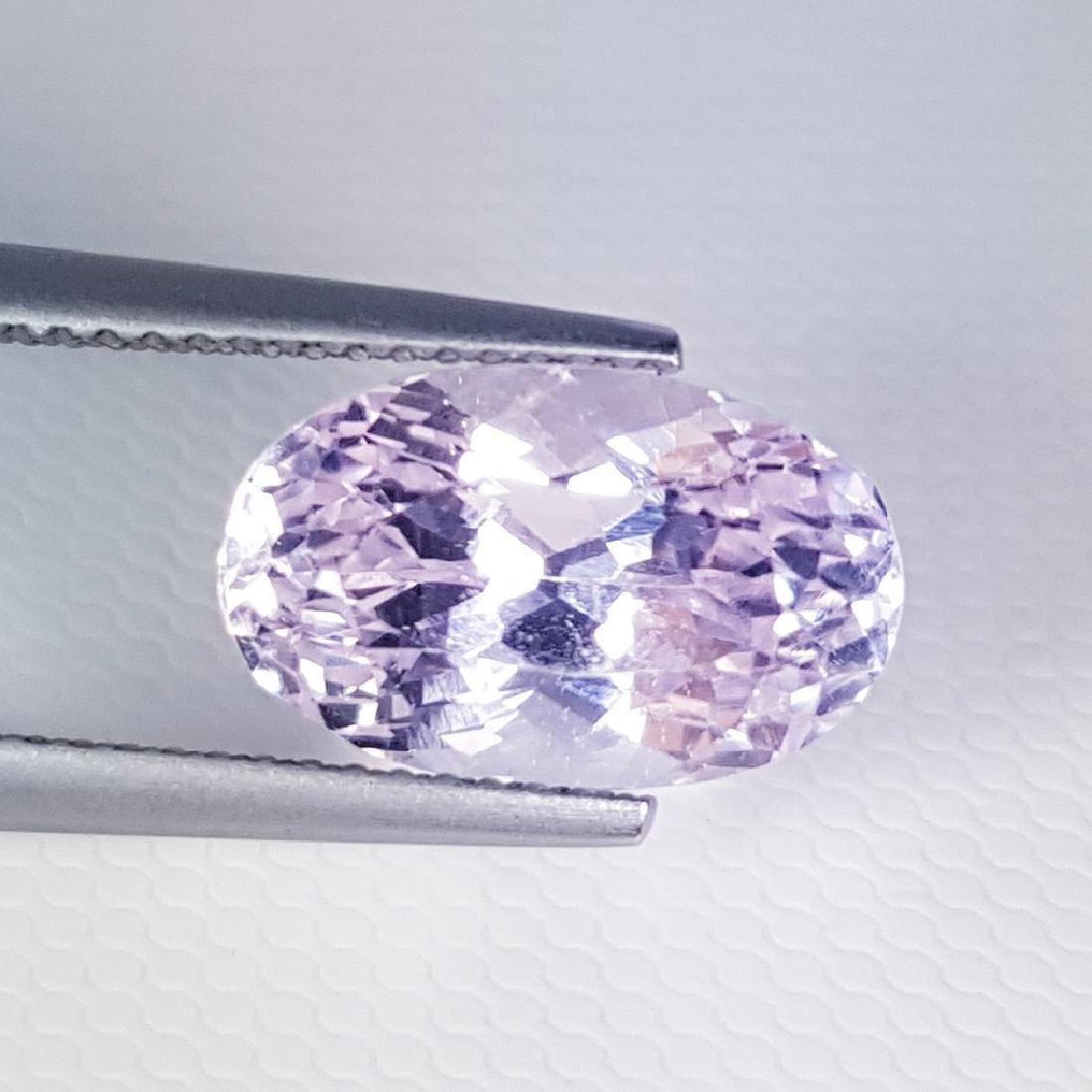 6.09 ct Collector Gem Natural Pink Kunzite