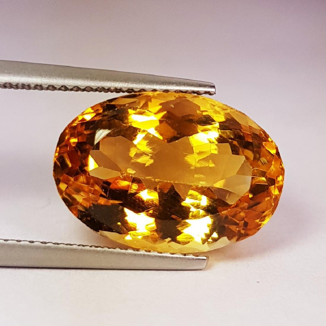 11.86 ct Collective Oval Cut Natural Citrine