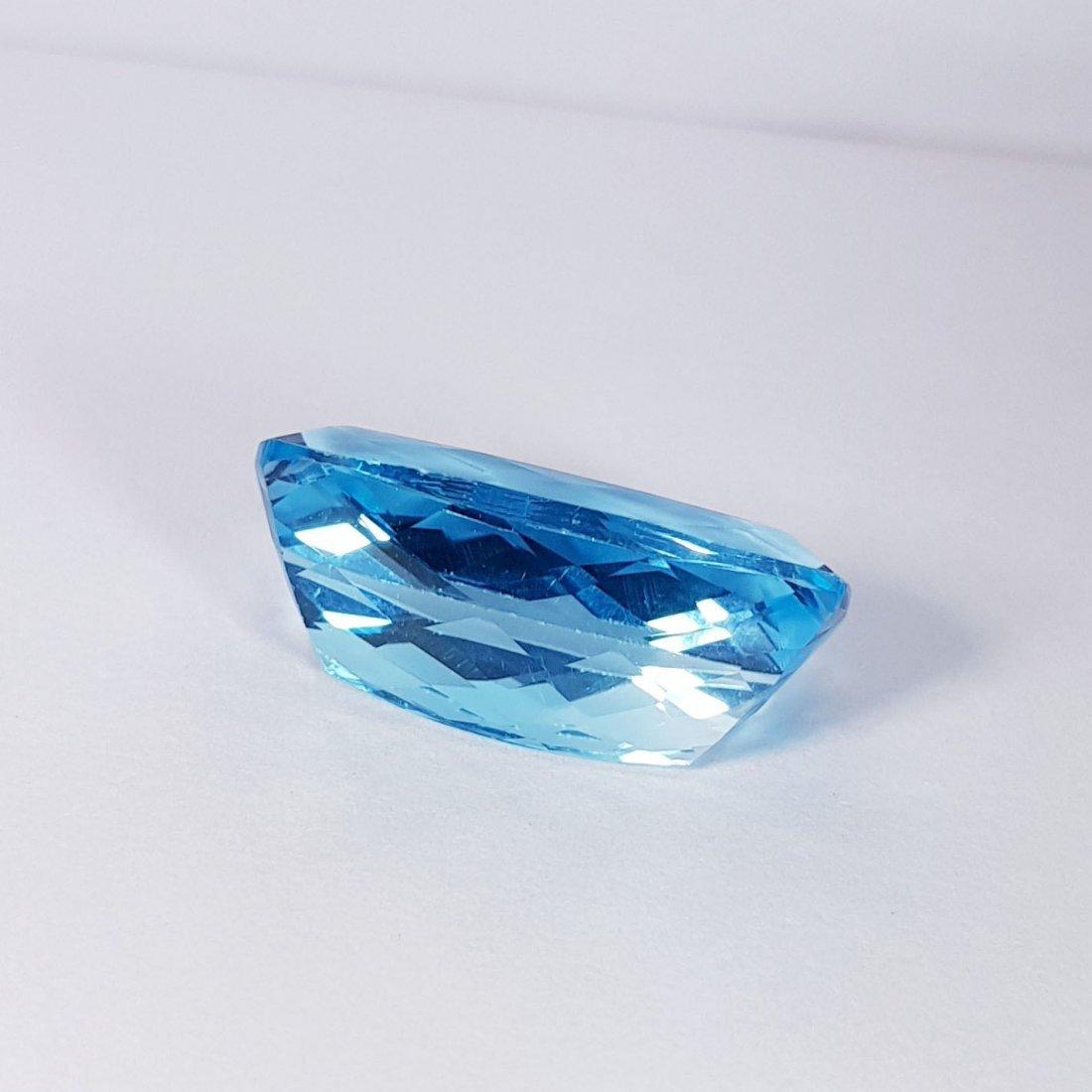 23.80 ct Natural Swiss Blue Topaz - 4