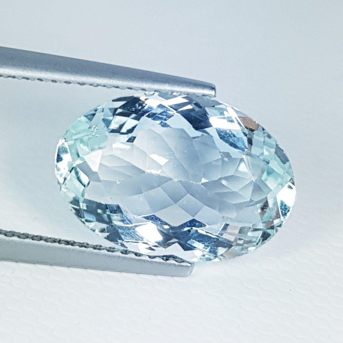 5.68 ct Natural Aquamarine - 2