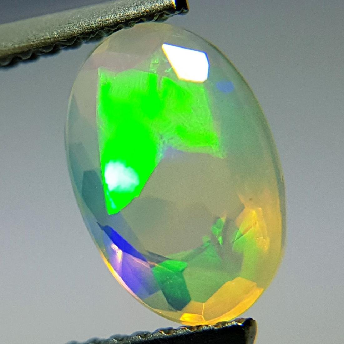 1.42 ct Beautiful Fire Oval Cut Natural Opal