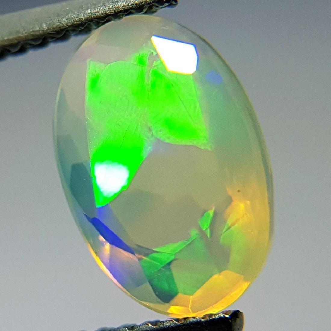 1.42 ct Beautiful Fire Oval Cut Natural Opal - 2