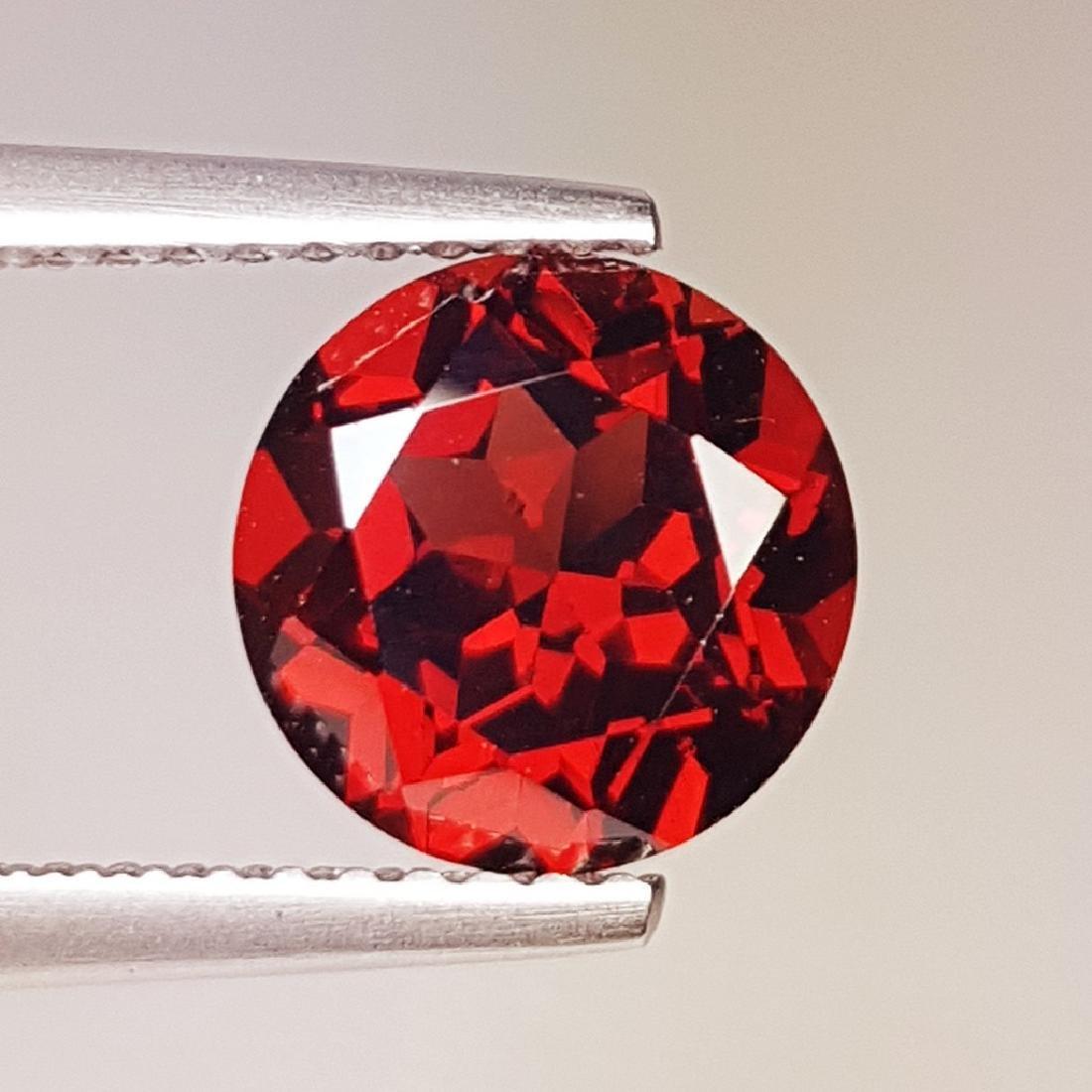 2.42 ct Fantastic Natural Pyrope - Almandite Red Garnet