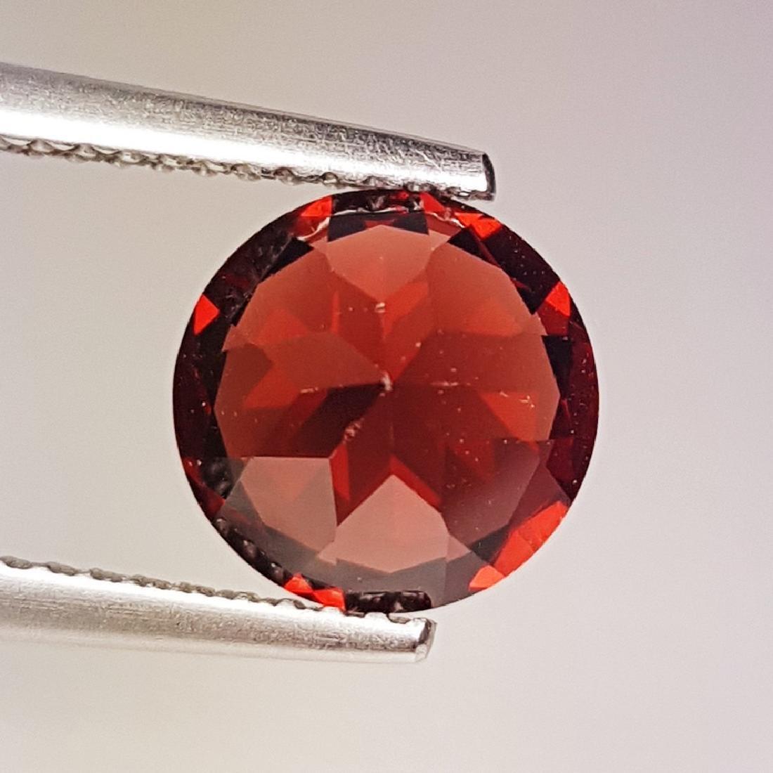 2.42 ct Fantastic Natural Pyrope - Almandite Red Garnet - 2