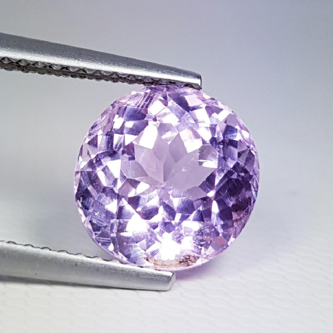 4.14 ct Excellent Gem Natural Pink Kunzite - 3