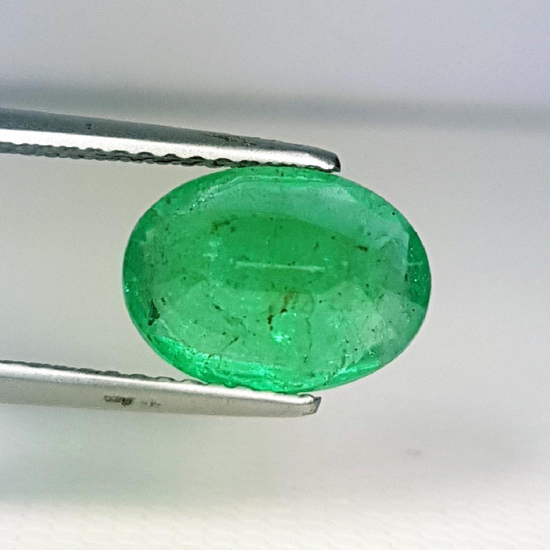2.53 ct Top Grade Natural Emerald - 3
