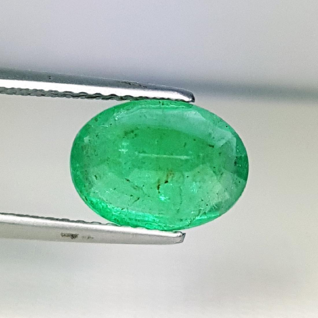 2.53 ct Top Grade Natural Emerald - 4