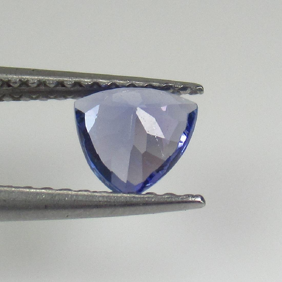 0.56 Ct Natural Tanzanite 6X6 mm Trillion cut - 2