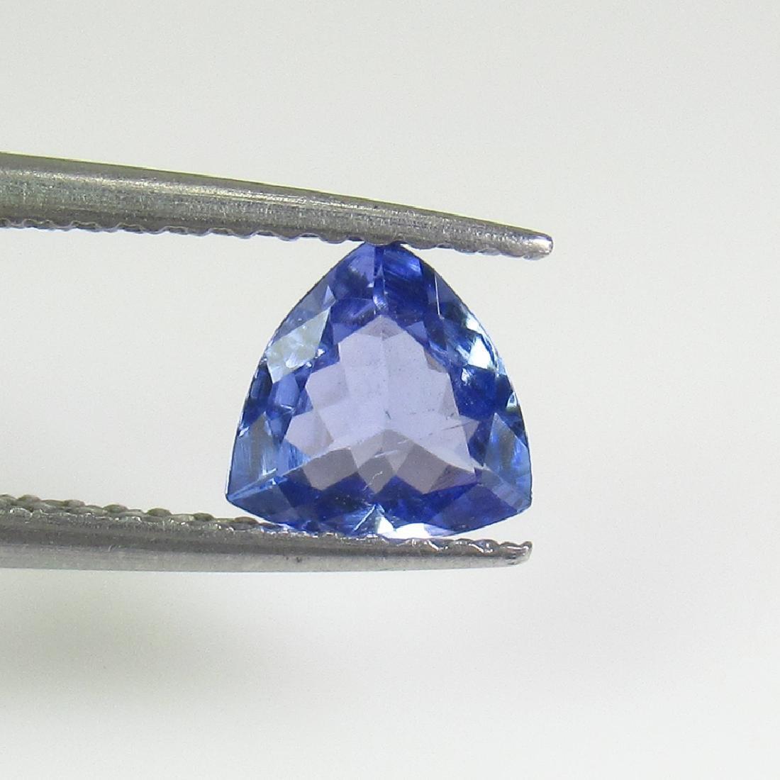 0.60 Ct Natural Tanzanite 6X6 mm Trillion cut