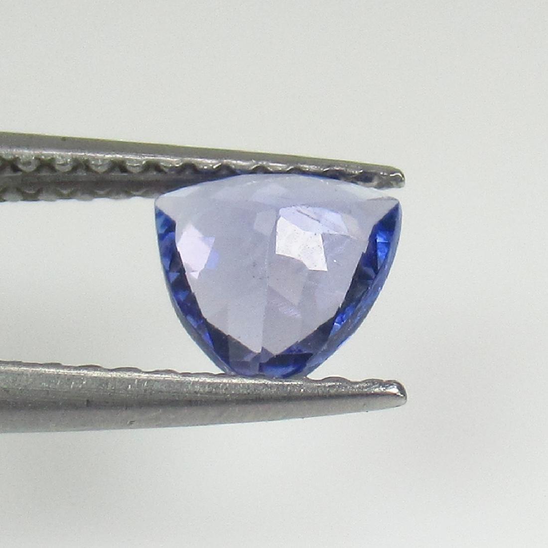 0.60 Ct Natural Tanzanite 6X6 mm Trillion cut - 2
