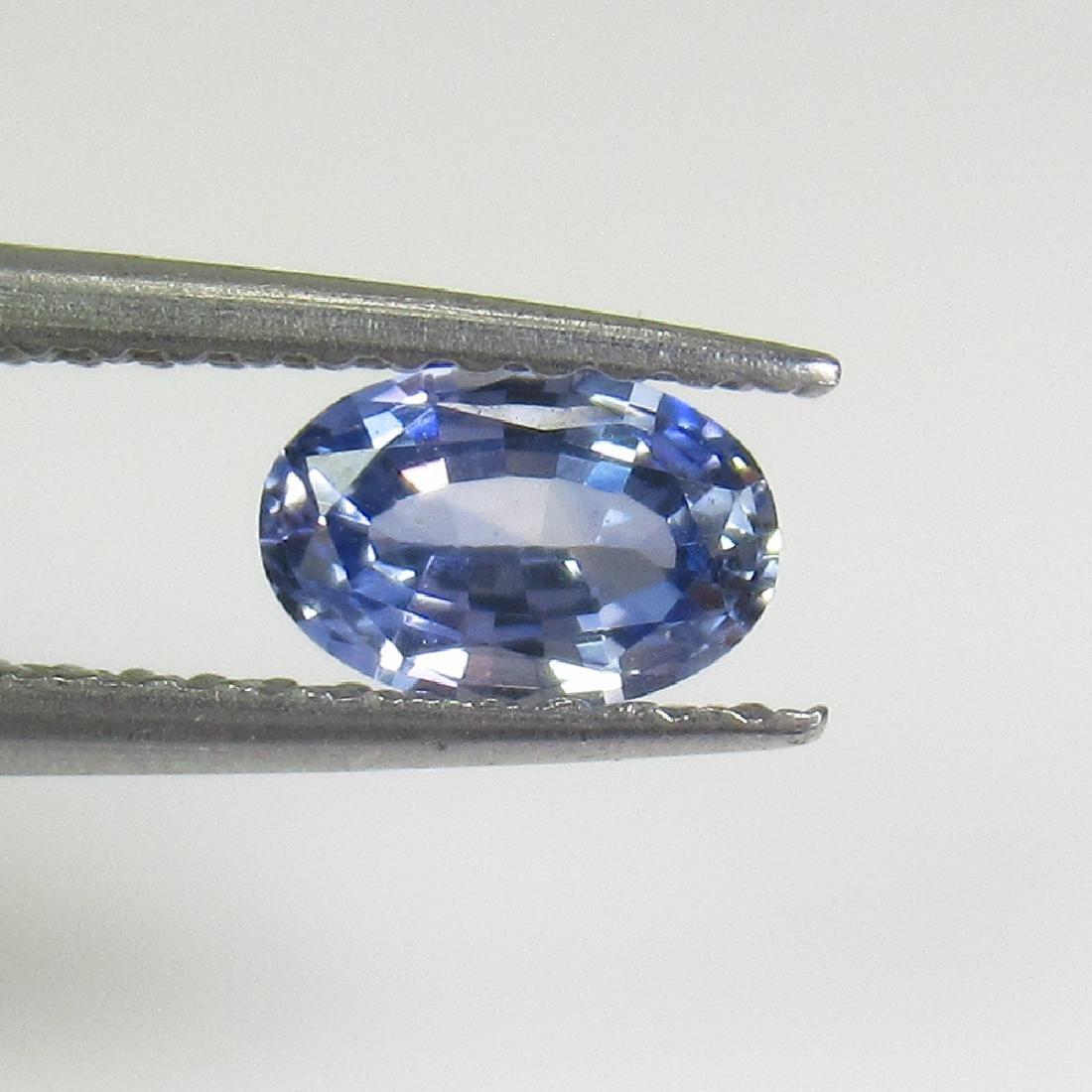 0.54 Ctw Natural Ceylon Blue Sapphire 6X4 mm Oval Cut