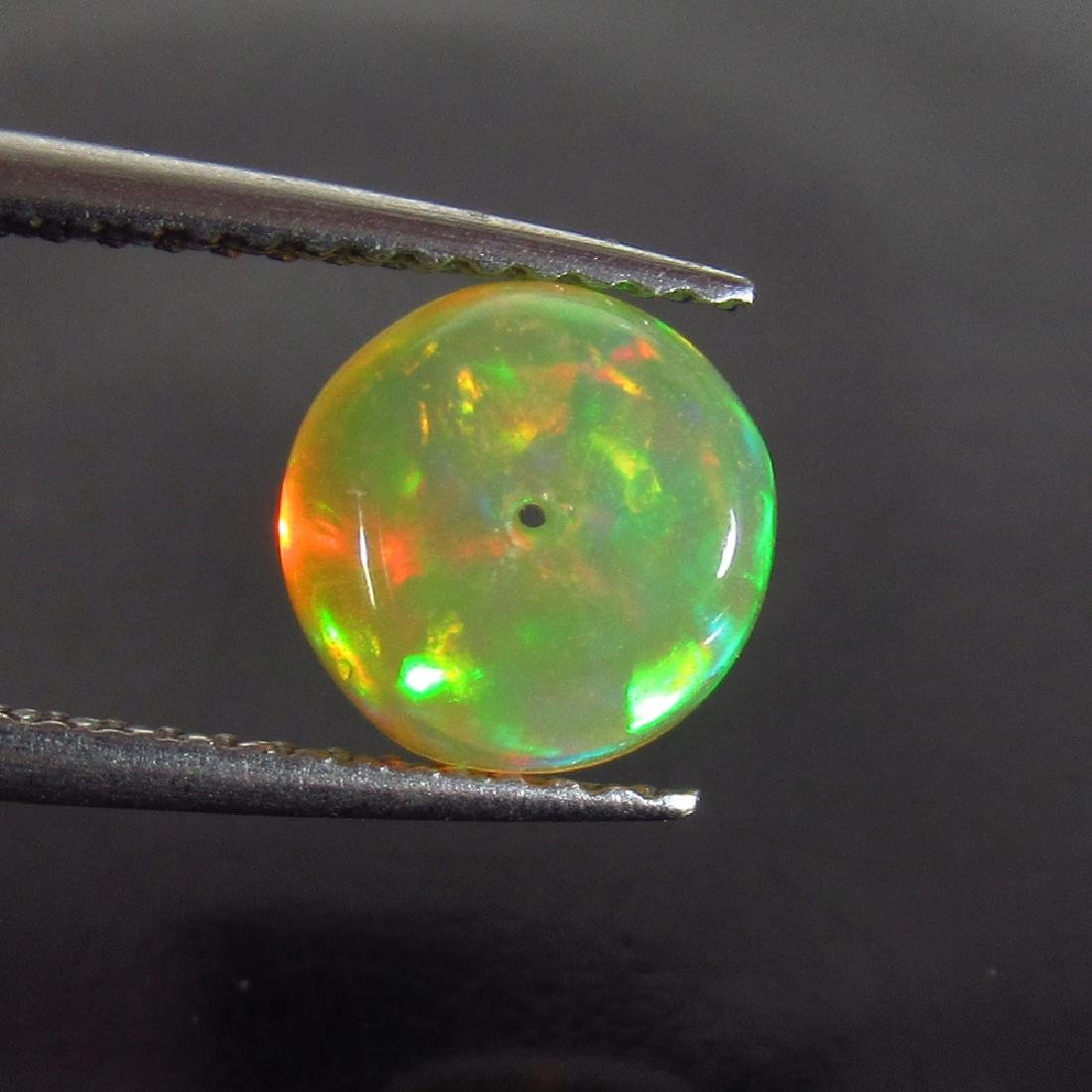 1.59 Ctw Natural Drilled Multi-Color Fire 9.5 mm Round - 2