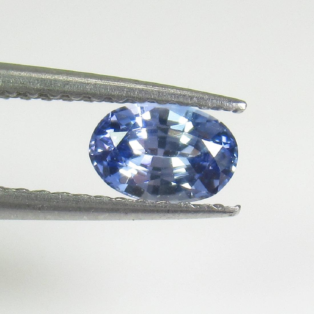0.60 Ctw Natural Ceylon Brown Sapphire Oval Cut