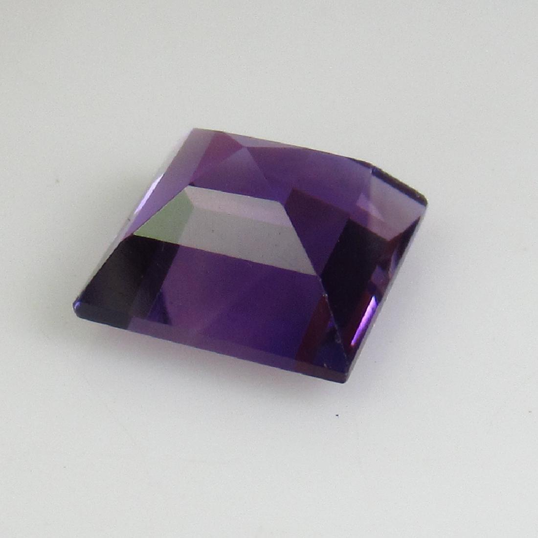 2.27 Ctw Natural Purple Amethyst 8X8 mm Square Cut - 2