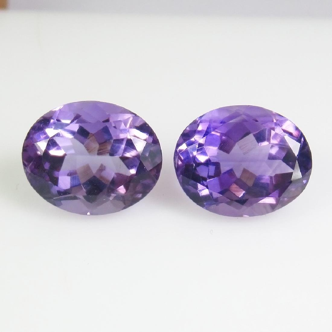 7.56 Ct Genuine Brazil Purple Amethyst 11x9 mm Oval