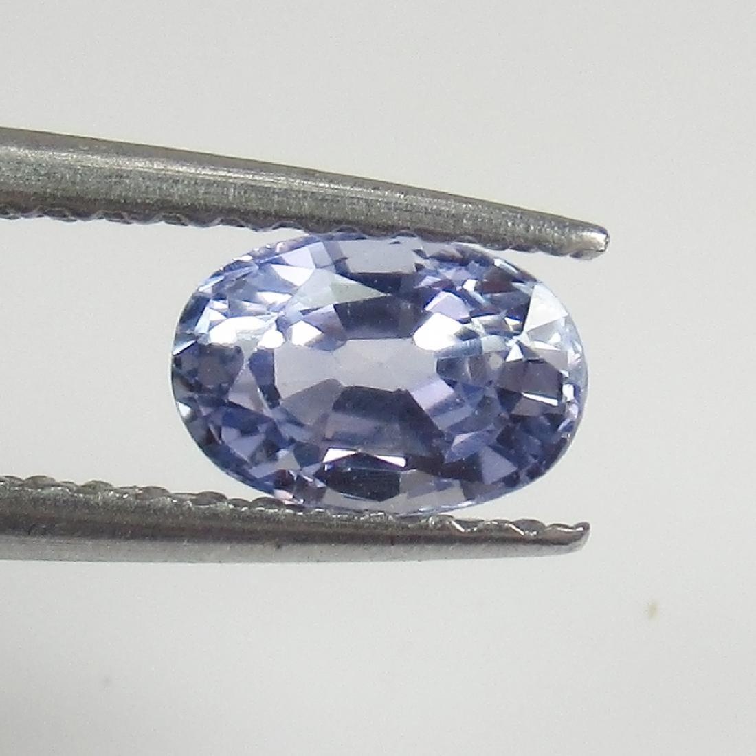 0.71 Ct Genuine Ceylon Blue Sapphire Oval cut