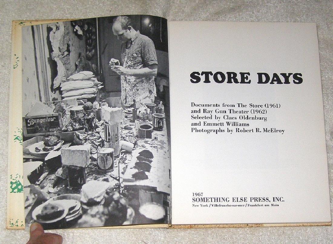 CLAES OLDENBURGS STORE DAYS - 5