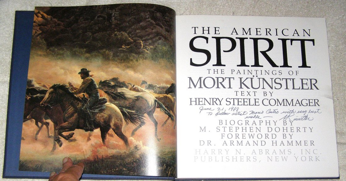 THE AMERICAN SPIRIT : THE PAINTINGS OF MORT KUNSTLER - 2