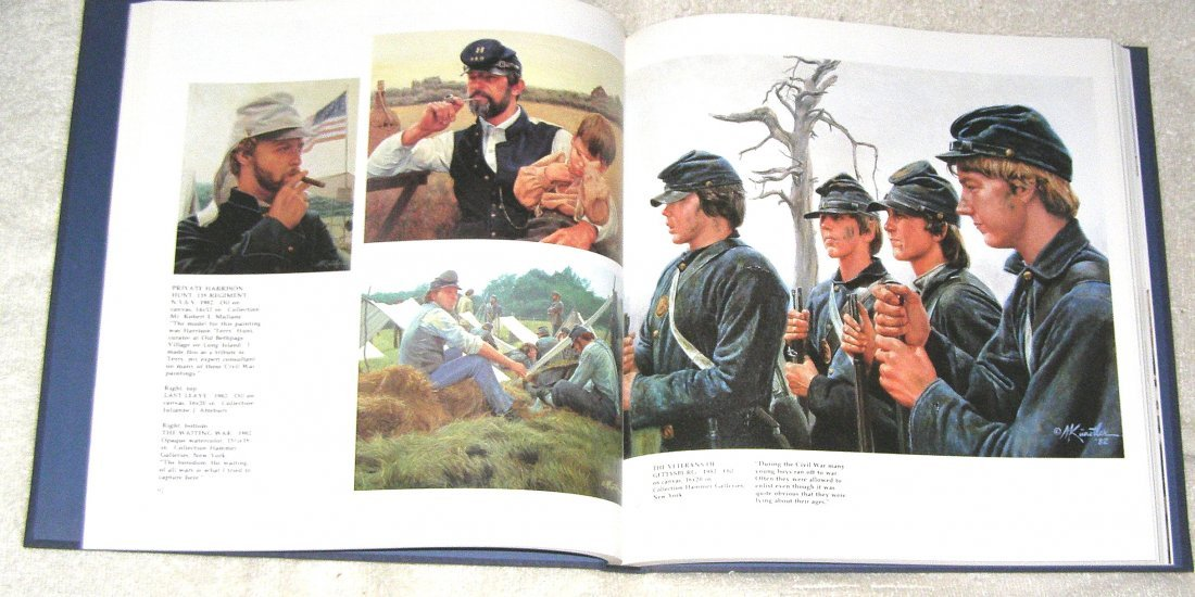 THE AMERICAN SPIRIT : THE PAINTINGS OF MORT KUNSTLER - 4