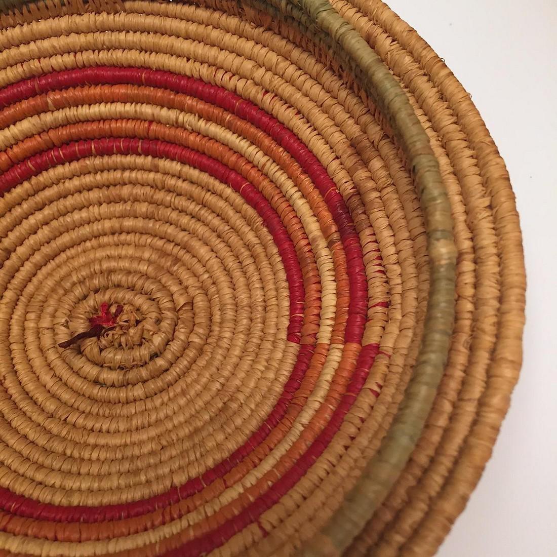 Northwest Coast Salish Lidded Coiled Basket - 5