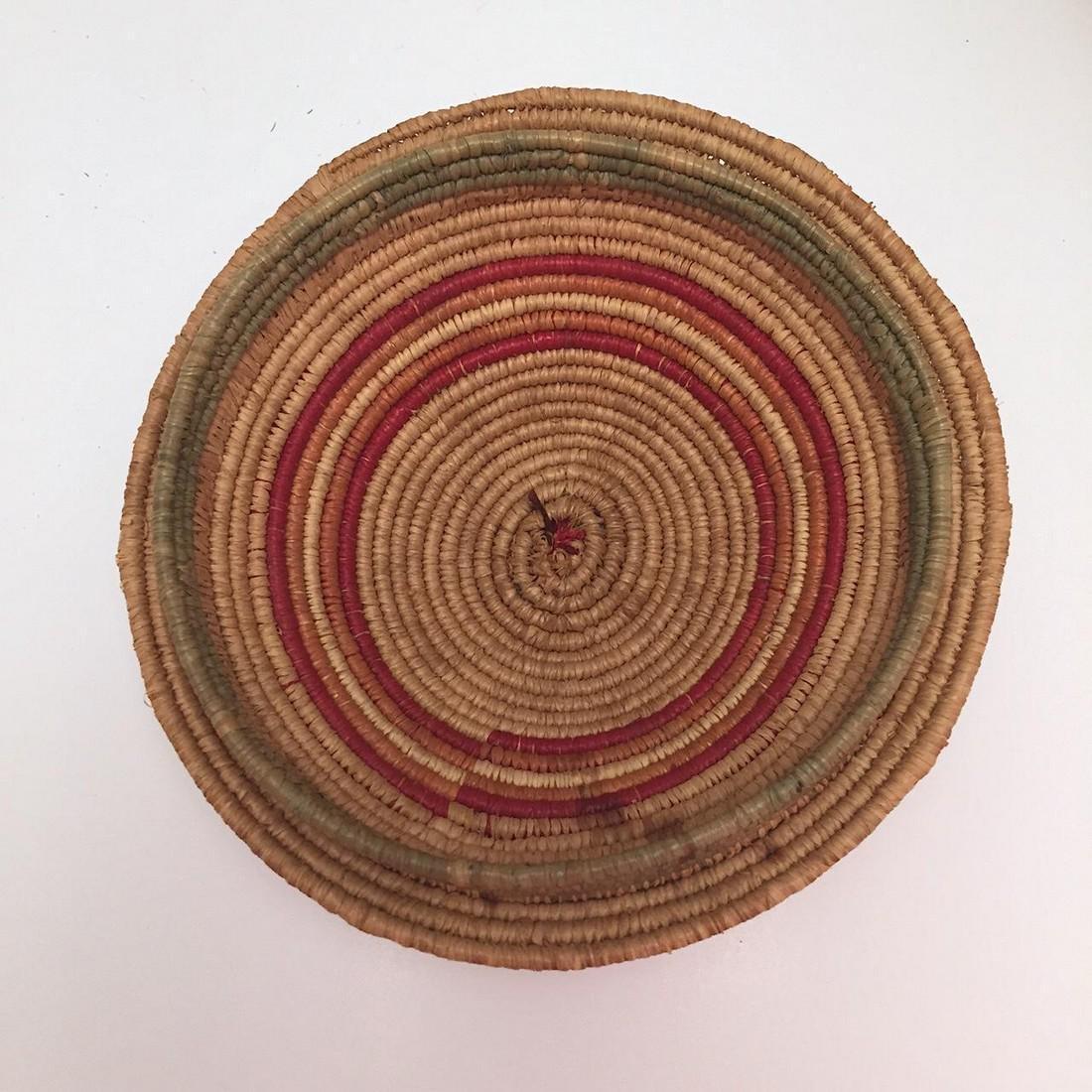 Northwest Coast Salish Lidded Coiled Basket - 6