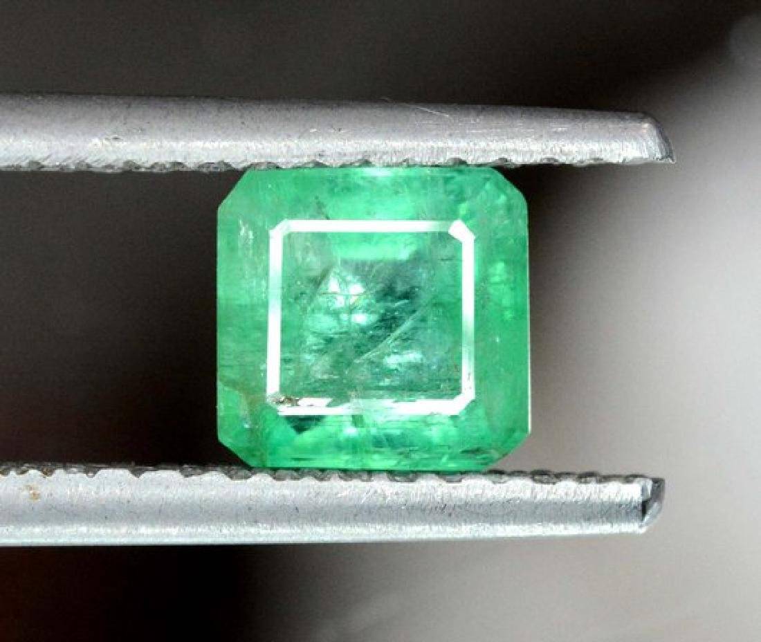 1.85 cts Stunning Emerald Cut Swat Emerald Gemstone - 3