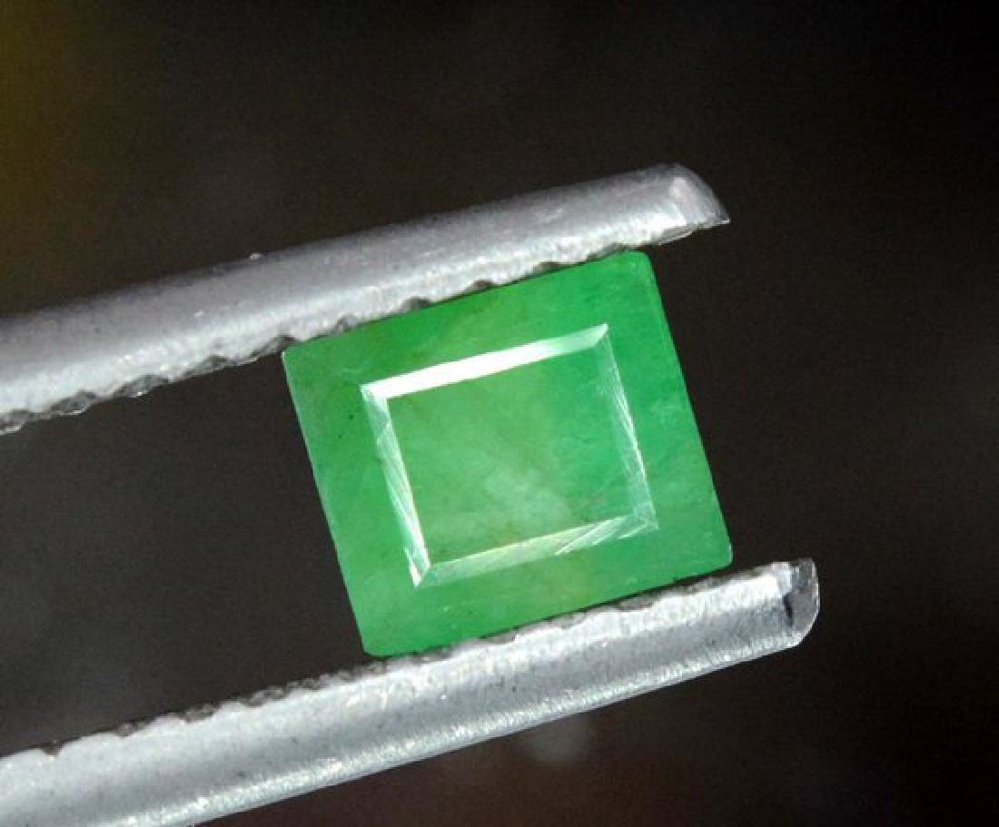 Stunning Emerald Cut swat Emerald Gemstone From Swat