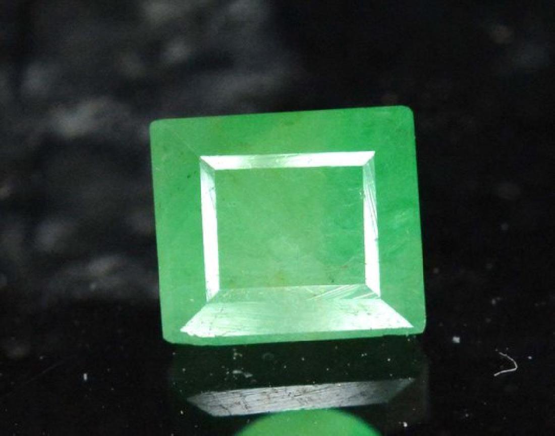 Stunning Emerald Cut swat Emerald Gemstone From Swat - 2