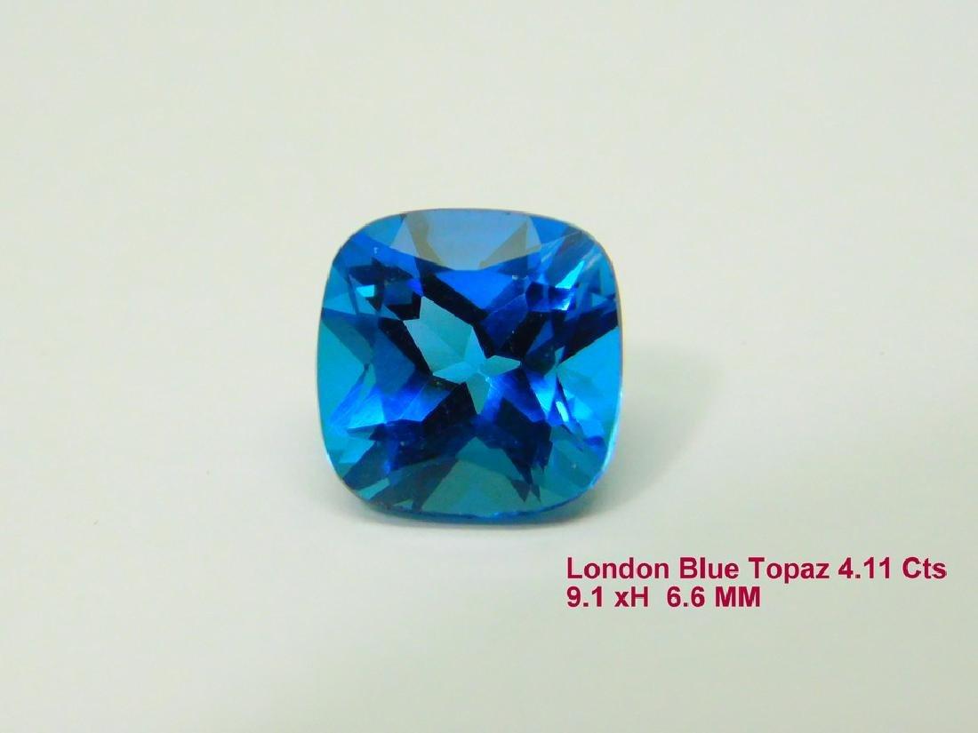 London Blue 4.11 Cts