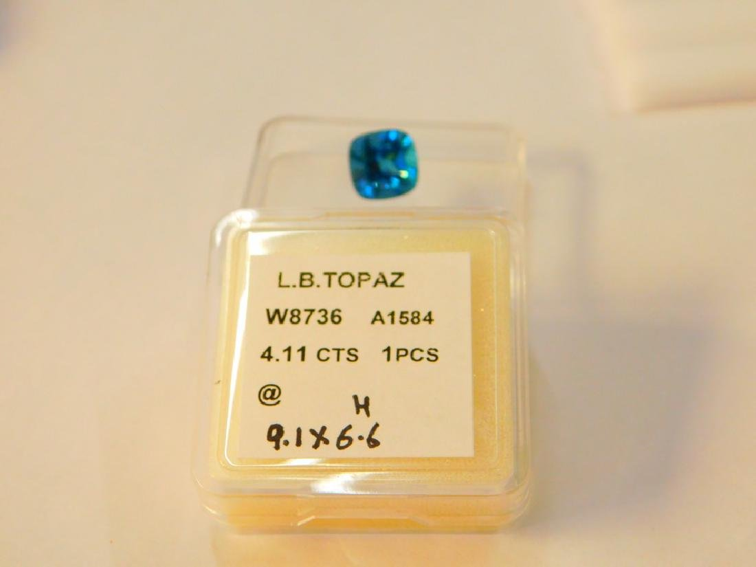 London Blue 4.11 Cts - 2