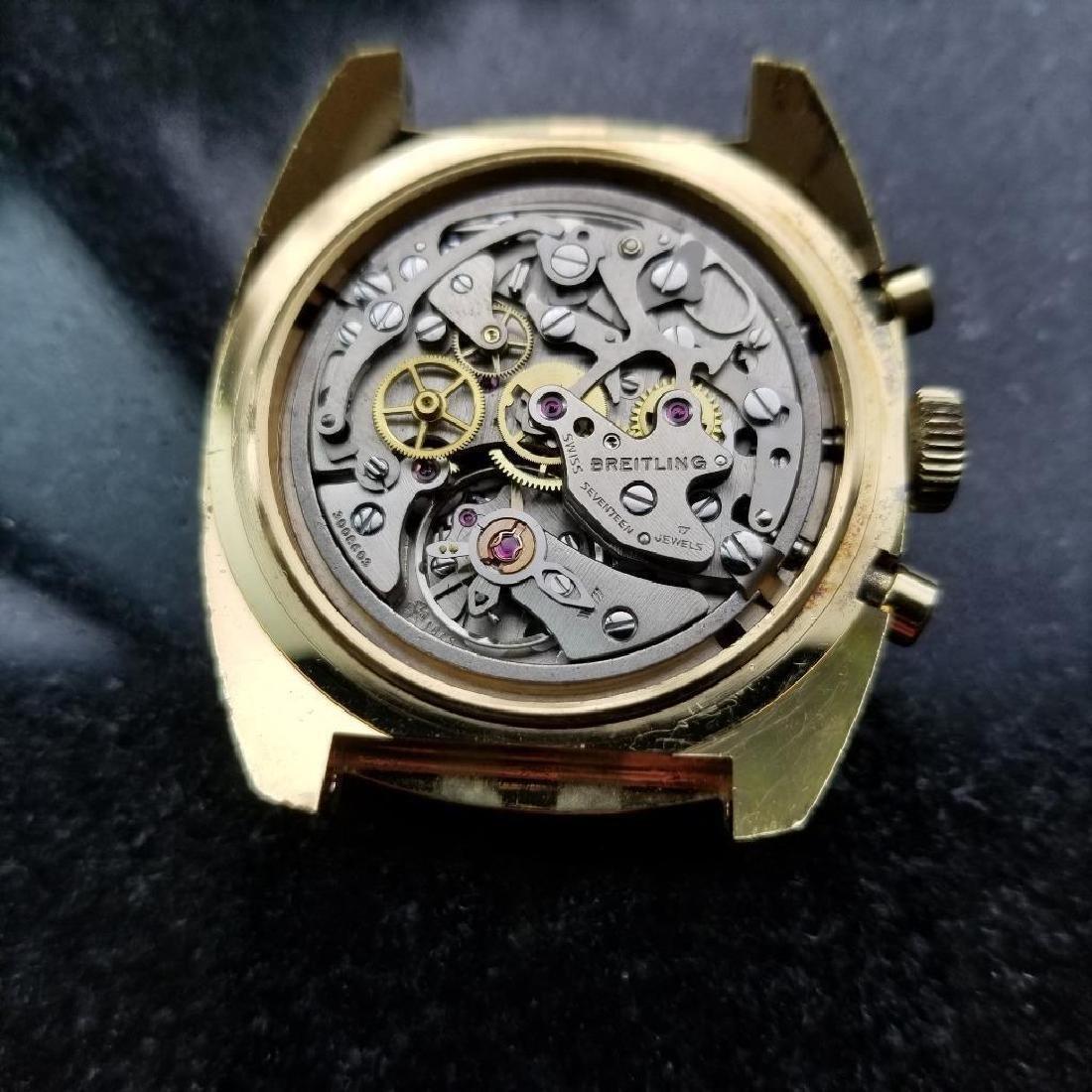 Breitling Vintage Chronograph Rare 1970s Cal.1873 Mens - 10