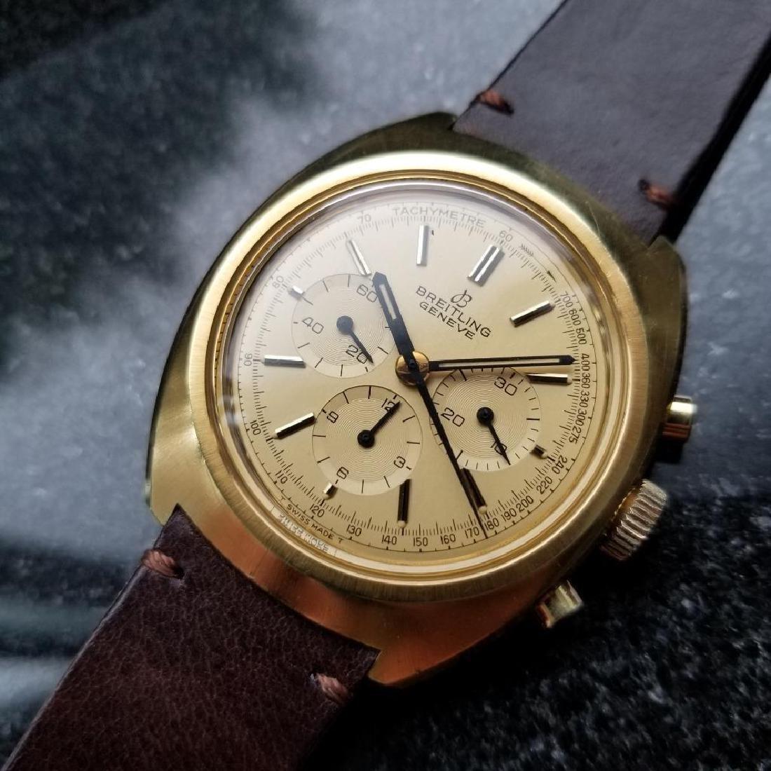 Breitling Vintage Chronograph Rare 1970s Cal.1873 Mens