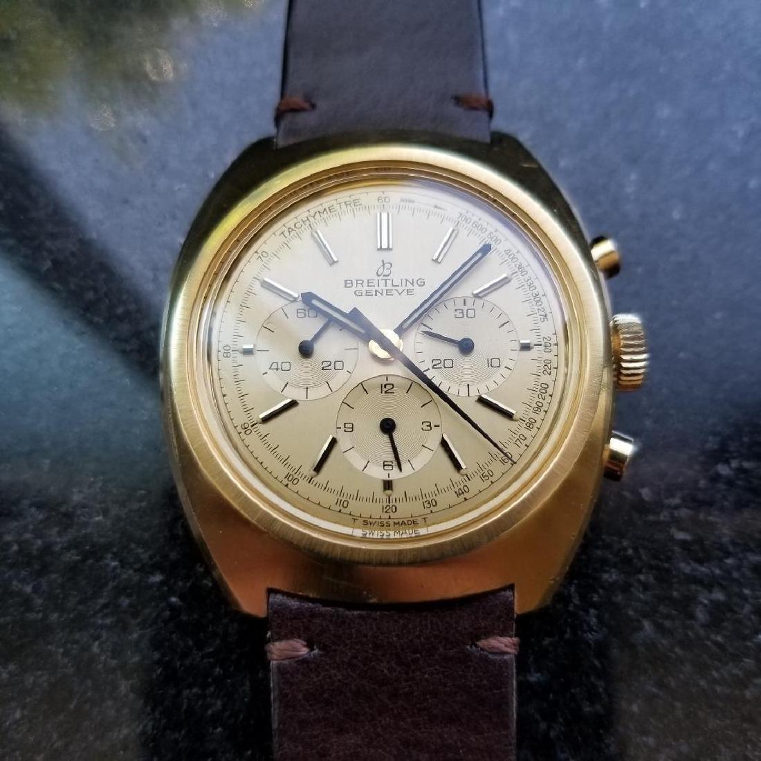 Breitling Vintage Chronograph Rare 1970s Cal.1873 Mens - 2