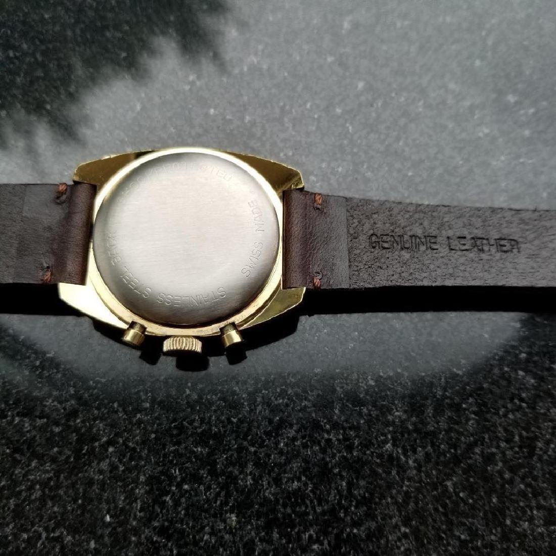 Breitling Vintage Chronograph Rare 1970s Cal.1873 Mens - 5