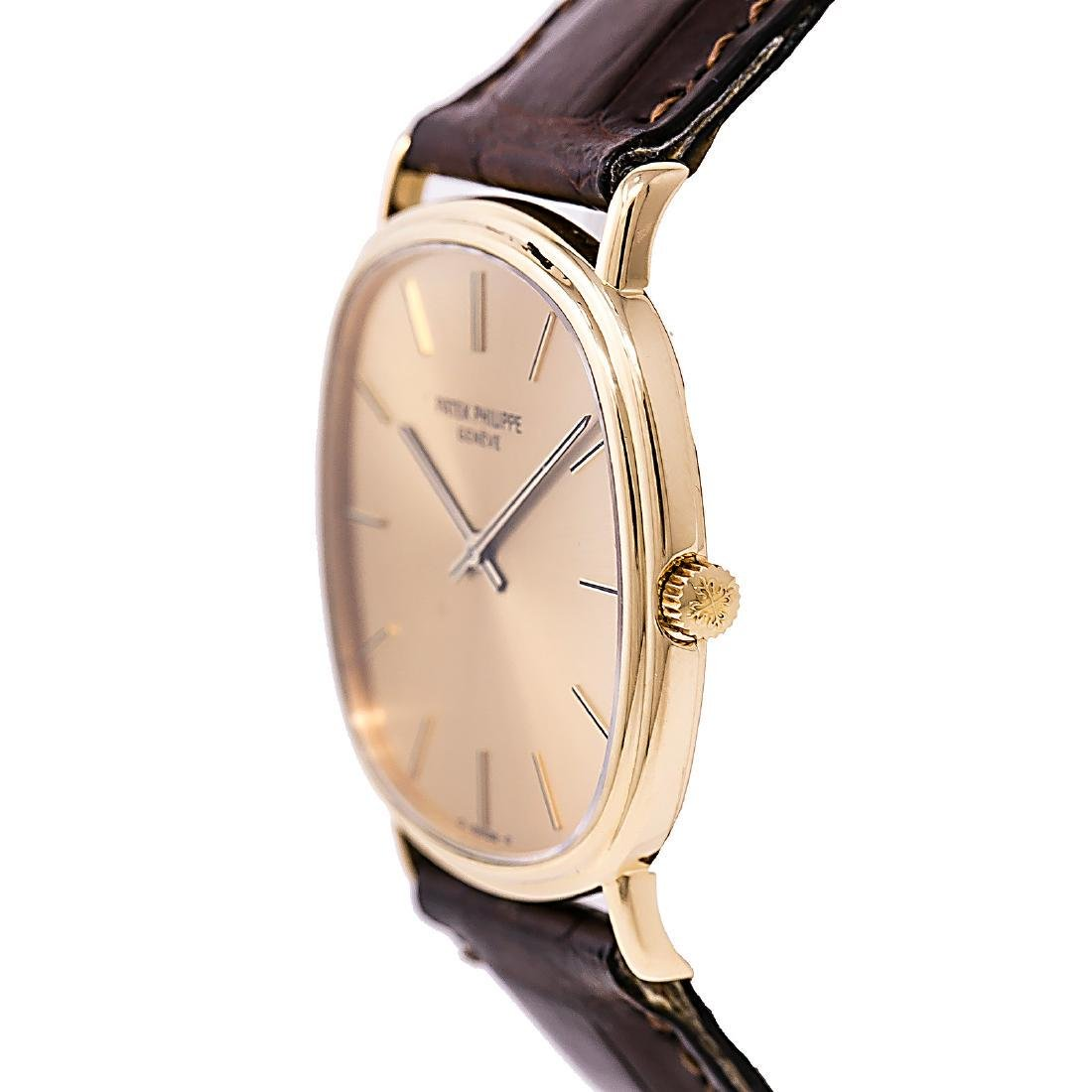 Certified 1990 Patek Philippe Geneve watch - 3