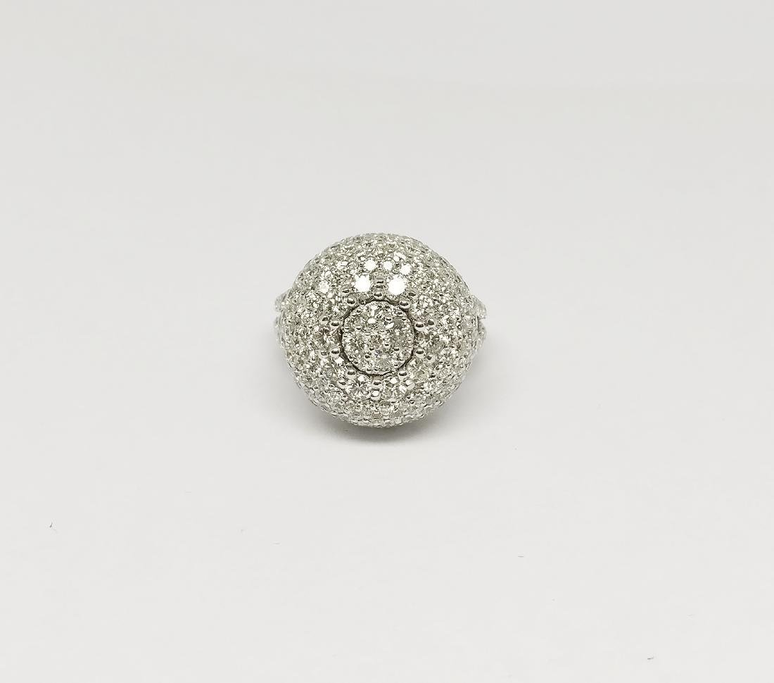 An 18K AIG Certified Diamond Ring 7.18 ct total