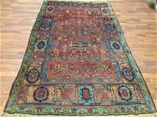 Antique Persian Tribal Bidjar Rug-18