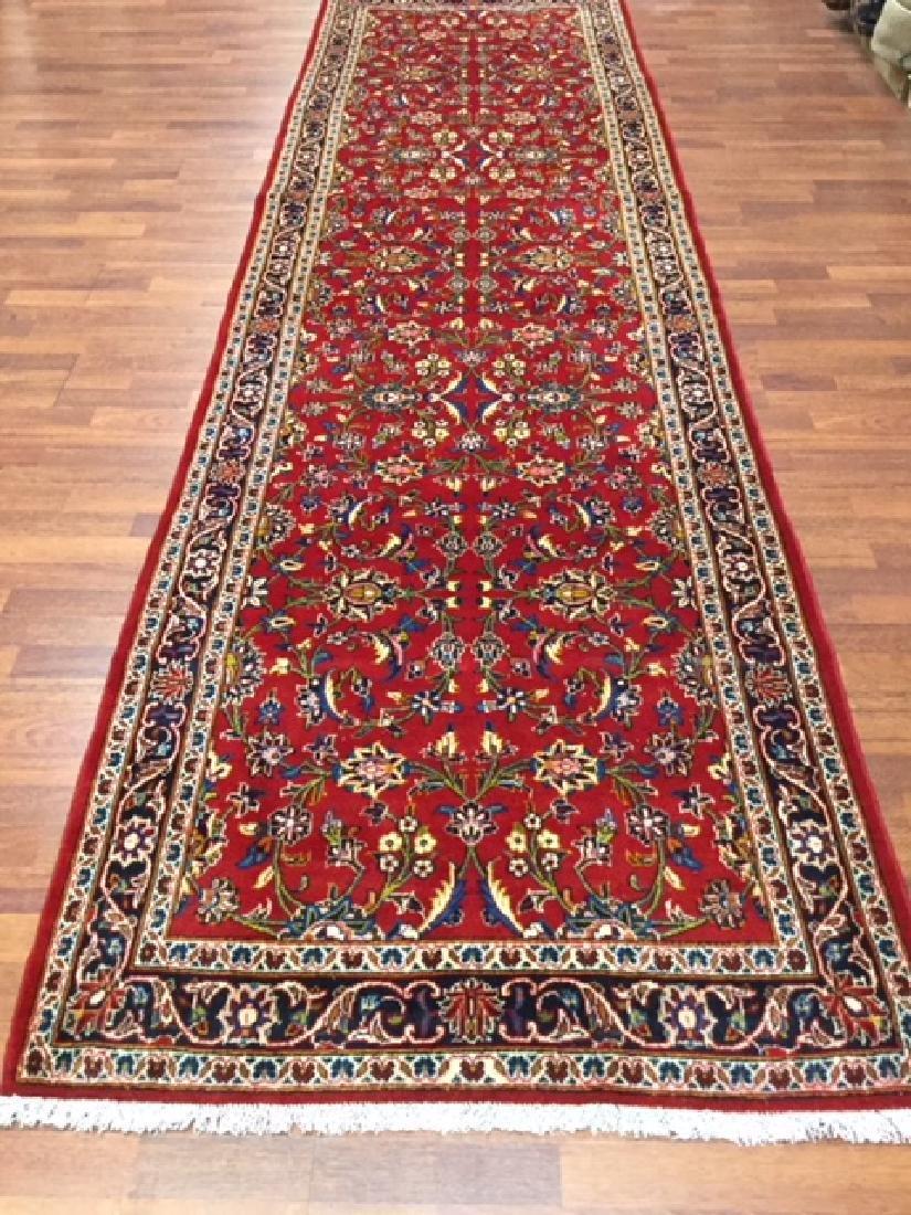 Vintage Persian kashan Rug-4546