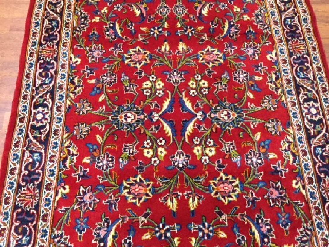 Vintage Persian kashan Rug-4546 - 2