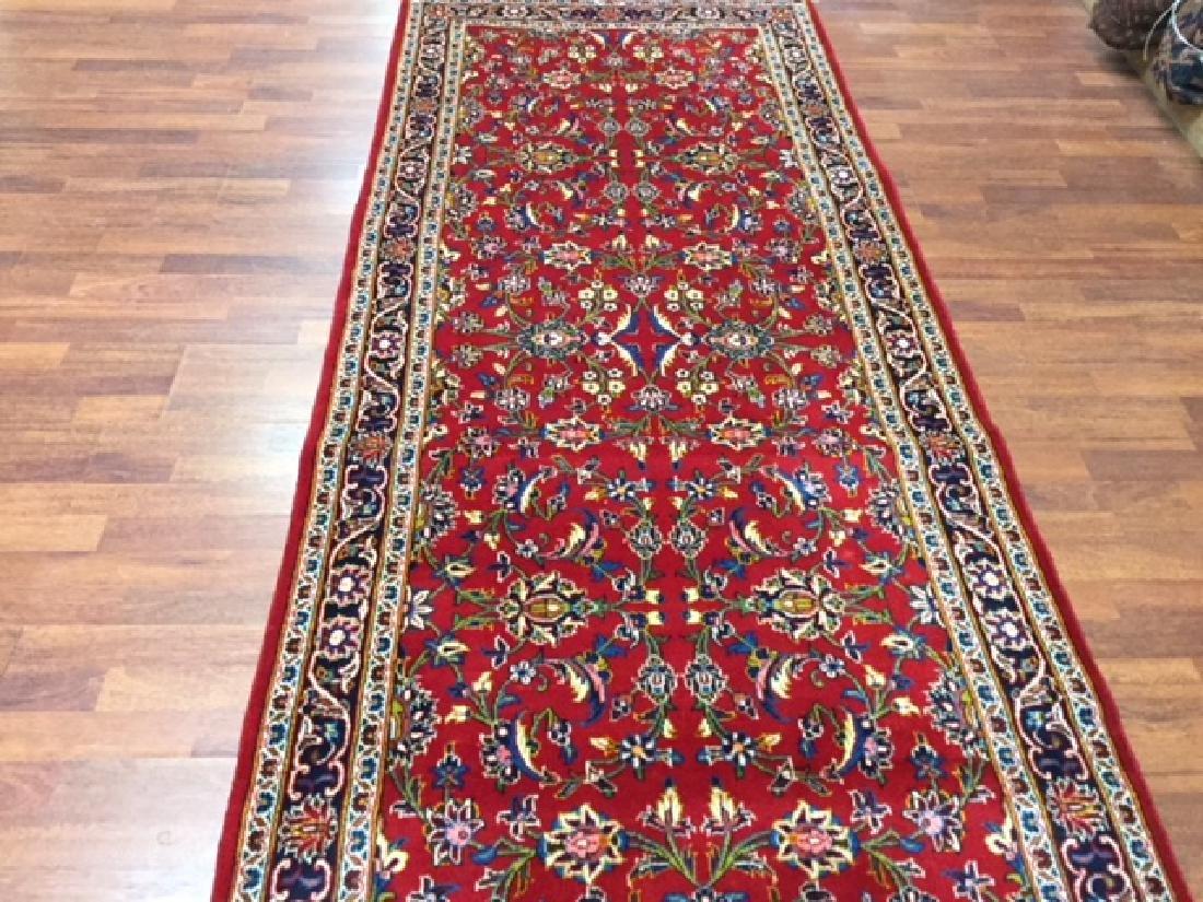 Vintage Persian kashan Rug-4546 - 3
