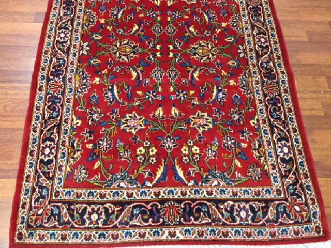 Vintage Persian kashan Rug-4546 - 4