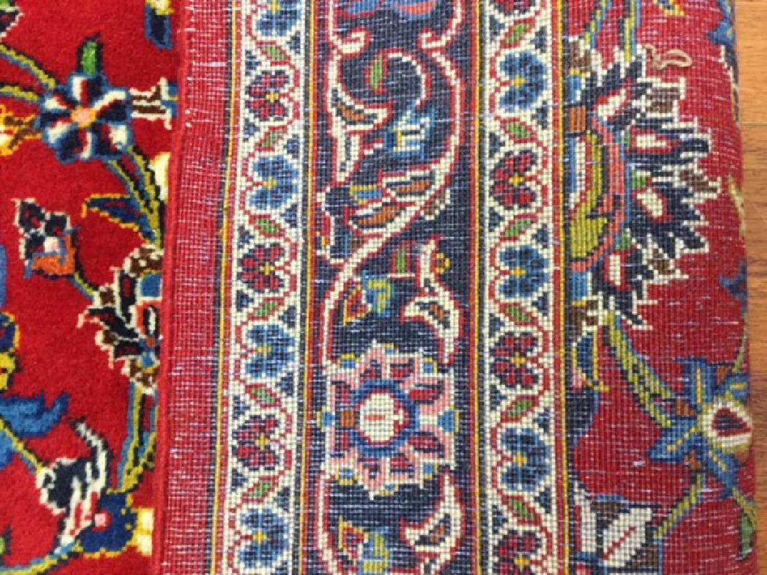 Vintage Persian kashan Rug-4546 - 5