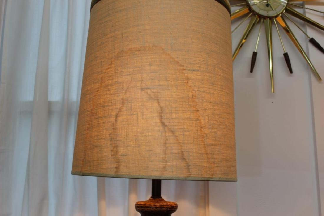 Mid Century Modern pair of ceramic lamps | - 5