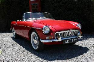 MGB Nr 5 produced 1962