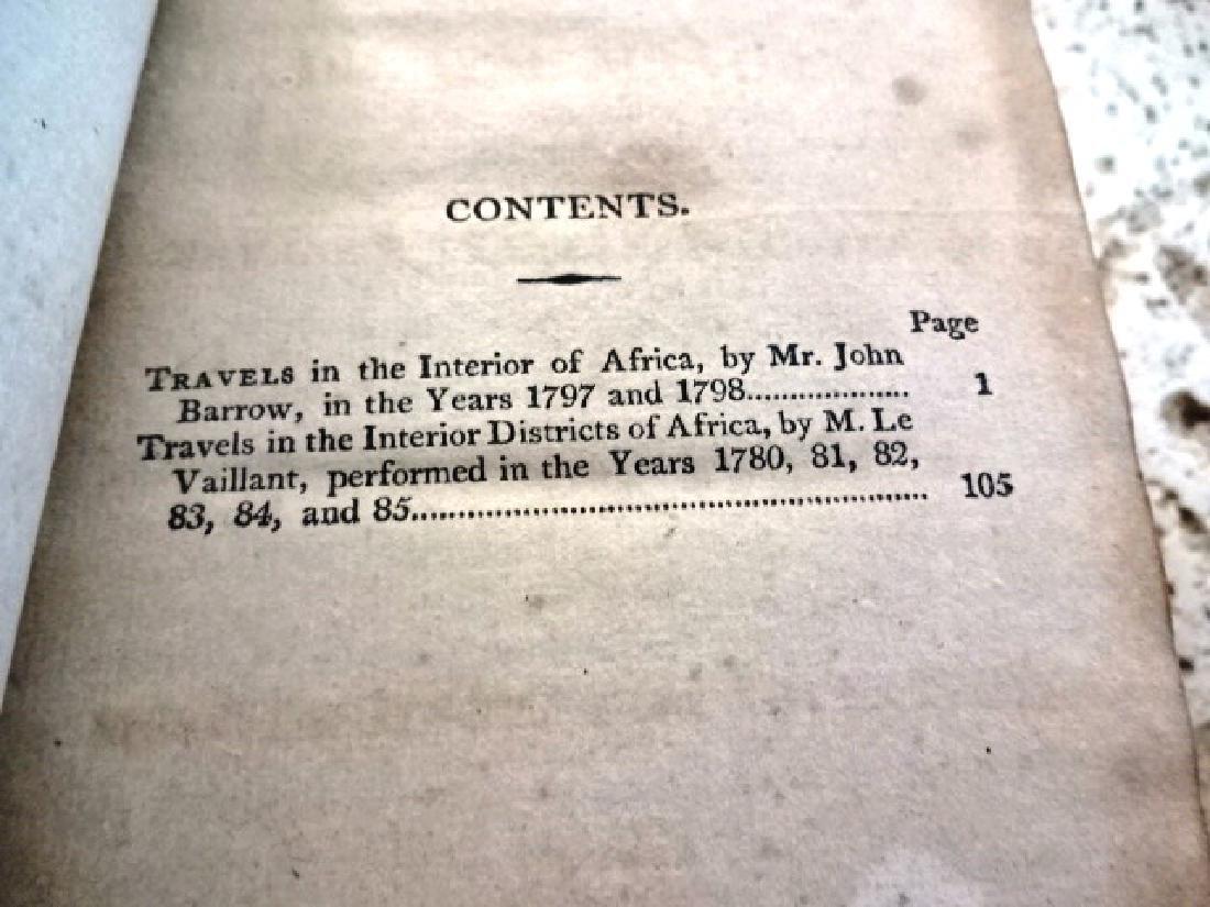 1817 Mavor Voyages to Africa Barrow - 2