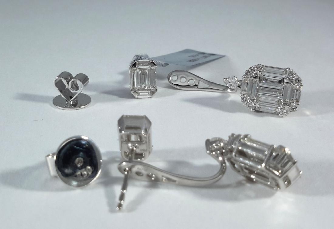 2.75ct Multi-Diamonds Stud/Dangle Earrings - 3
