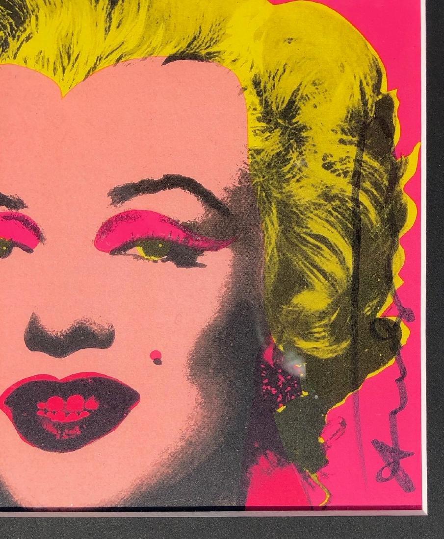 Andy Warhol Screenprint on paper Marilyn Castelli - 6