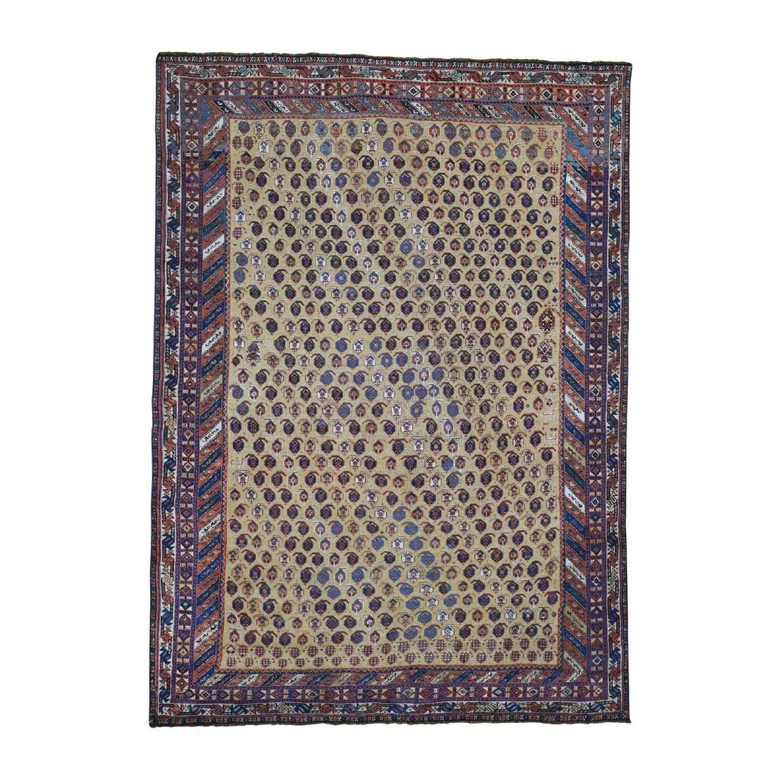 Antique Persian Afshar Even Wear Good Condition