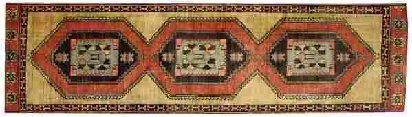 3 x 12 Vintage Oushak Rug 50445
